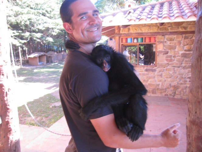Samaipata – Simon the Spider Monkey and Israeli backpacking superiority in South America
