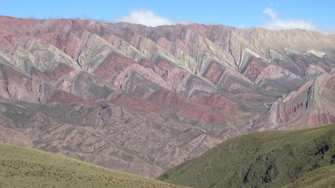 Humahuaca: El Cerro de Catorce Colores and excessive money changers inVillazón
