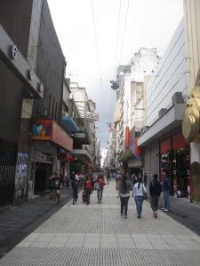 Calle Florida, the famous black market cash exchange street