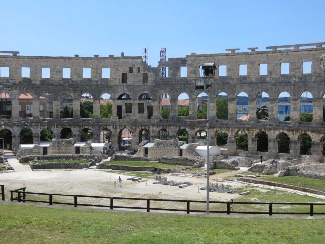 Pula – A little bit o' Rome in Croatia